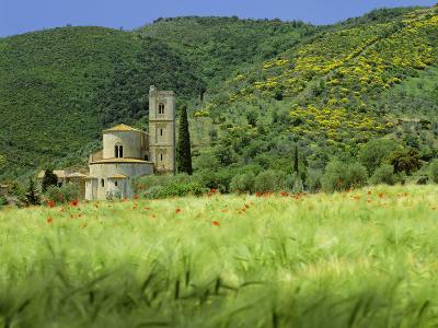 Abbey of Sant' Antimo, Near Montalcino, Tuscany. Exterior-Joe Cornish-Photographic Print