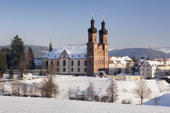 Abbey of St. Peter (Sankt Peter), Glottertal Valley, Black Forest, Baden-Wuerttemberg, Germany-Markus Lange-Photographic Print