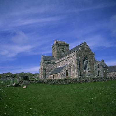 Abbey on Iona, Scotland, United Kingdom, Europe-Geoff Renner-Photographic Print