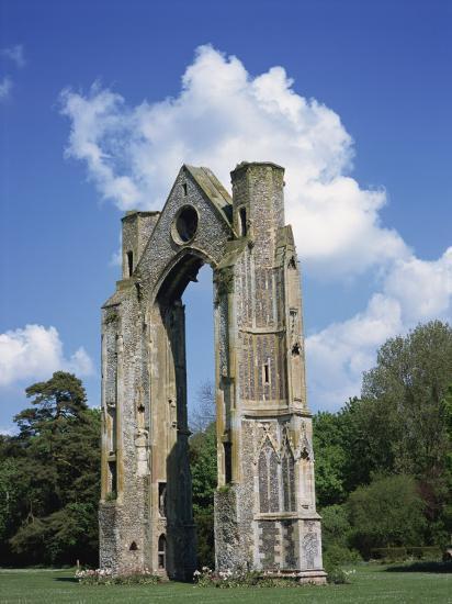 Abbey Ruins, Little Walsingham, Norfolk, England, United Kingdom, Europe-Hunter David-Photographic Print