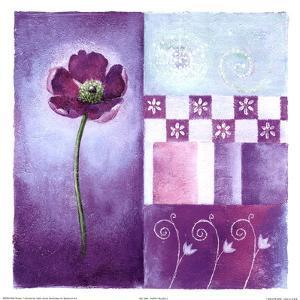 Poppy Blues II by Abbi Brown