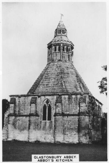 Abbot's Kitchen, Glastonbury Abbey, 1936--Giclee Print