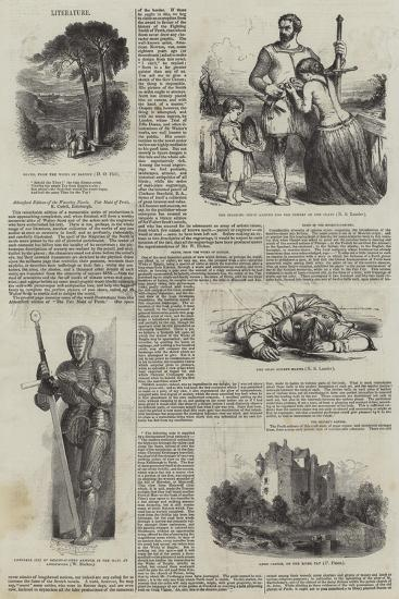 Abbotsford Edition of the Waverley Novels--Giclee Print