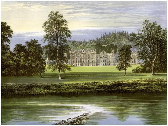 Abbotsford, Roxburghshire, Scotland, Home of the Scott Family, C1880-AF Lydon-Giclee Print