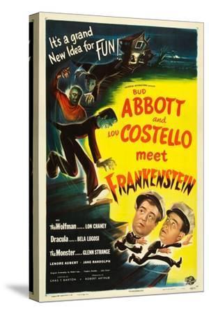Abbott and Costello Meet Frankenstein, Lou Costello, Bud Abbott, 1948