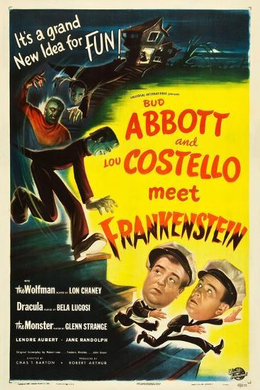 abbott and costello meet frankenstein colorized