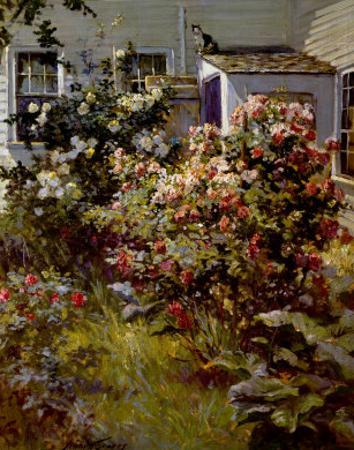 Backyard Garden by Abbott Fuller Graves