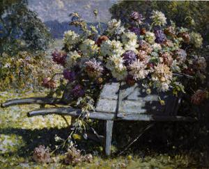 Barrow of Blooms by Abbott Fuller Graves