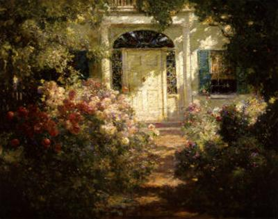 Doorway and Garden by Abbott Fuller Graves