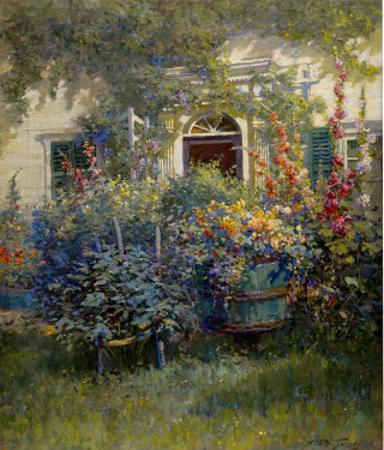 Kennebunkport Doorway by Abbott Fuller Graves