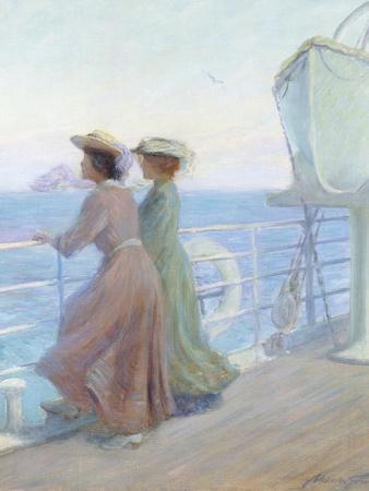 Nearing Home, C.1905