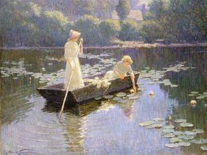 Pond Lillies by Abbott Fuller Graves