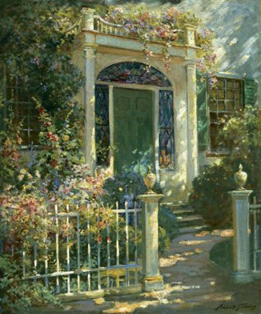 Portsmouth Doorway by Abbott Fuller Graves