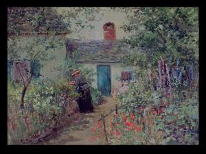 The Flower Garden, C.1900 by Abbott Fuller Graves
