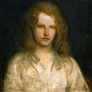 Margaret Mackittrick, C.1903 by Abbott Handerson Thayer