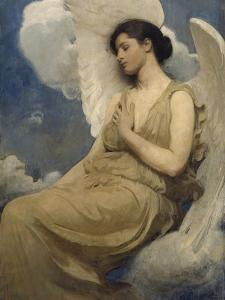Winged Figure, 1889 by Abbott Handerson Thayer