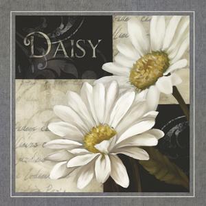 Flowers on B&W III by Abby White