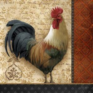 French Rooster II by Abby White