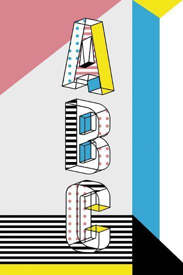 ABC Graphics-Myriam Tebbakha-Giclee Print