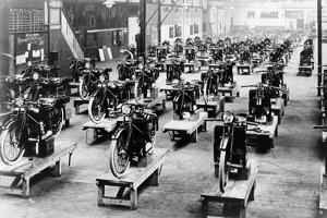 ABC Motorbike Factory, 1921