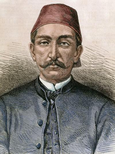 Abdul Hamid Ii (1842-1918). Sultan of the Ottoman Empire (1876-1909)-Prisma Archivo-Photographic Print