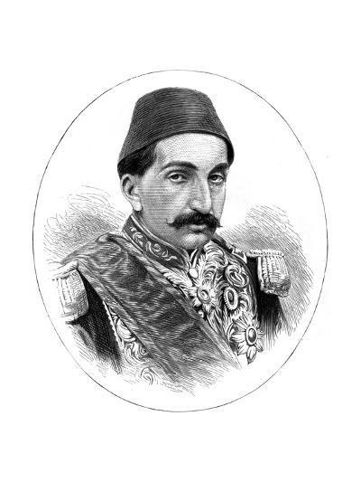 Abdul Hamid II, Sultan of Turkey, 19th Century--Giclee Print