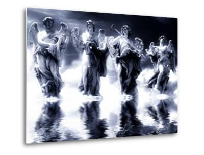 Digital Art, Based on the Angel Statues on Ponte Sant Angelo, Rome - Italy