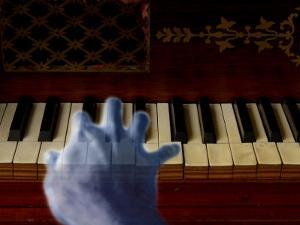Ghost Hand Playing the Piano by Abdul Kadir Audah