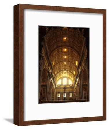 Inside St. Peter's Basilica, Vatican City, Italy