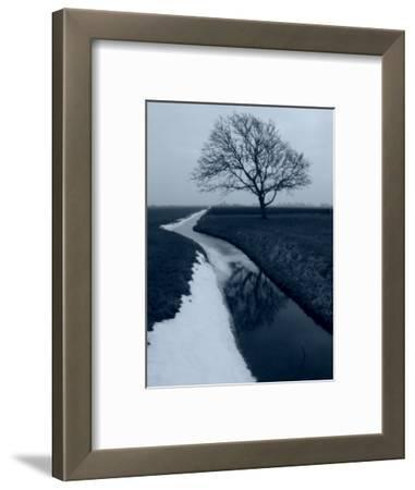 Landscape Photograph, a Winter Scenery in Spanbroek, the Netherlands