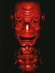 Red Devil Mask, Reflected by Abdul Kadir Audah