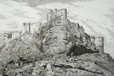 Abdullah Khan's Castle (Kurdistan), 1857, by Felix Thomas (1815-1875)--Giclee Print