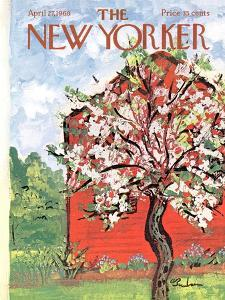 The New Yorker Cover - April 27, 1968 by Abe Birnbaum