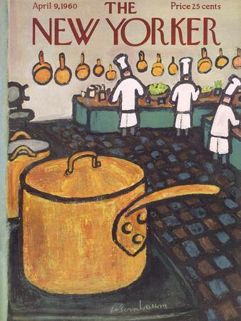 The New Yorker Cover - April 9, 1960
