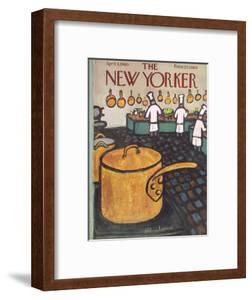 The New Yorker Cover - April 9, 1960 by Abe Birnbaum