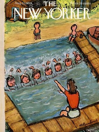 The New Yorker Cover - August 21, 1954
