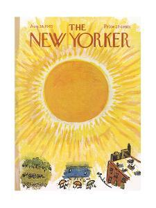 The New Yorker Cover - August 28, 1965 by Abe Birnbaum