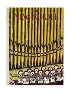 The New Yorker Cover - December 22, 1956 by Abe Birnbaum
