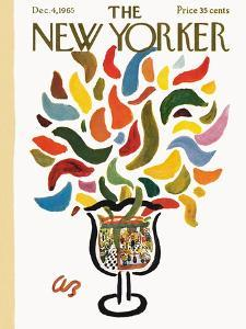 The New Yorker Cover - December 4, 1965 by Abe Birnbaum