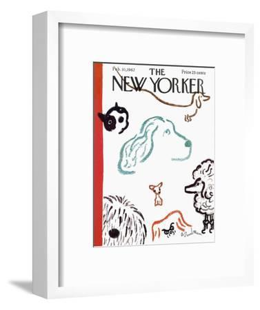 The New Yorker Cover - February 10, 1962