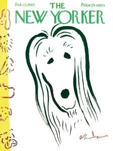 The New Yorker Cover - February 13, 1965 by Abe Birnbaum
