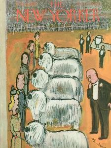 The New Yorker Cover - February 14, 1948 by Abe Birnbaum