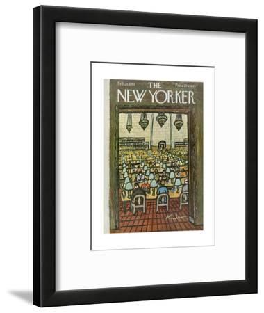 The New Yorker Cover - February 25, 1961