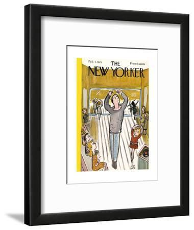 The New Yorker Cover - February 3, 1945