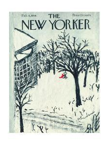 The New Yorker Cover - February 4, 1956 by Abe Birnbaum