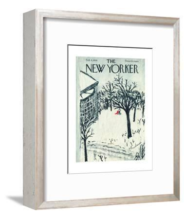The New Yorker Cover - February 4, 1956