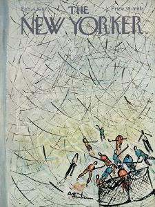 The New Yorker Cover - February 4, 1967 by Abe Birnbaum