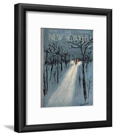 The New Yorker Cover - January 11, 1958