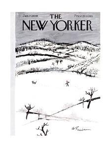 The New Yorker Cover - January 15, 1949 by Abe Birnbaum