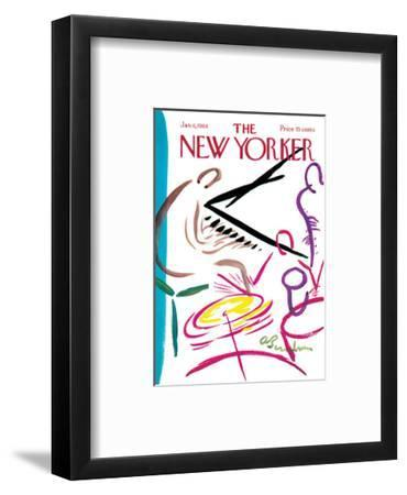 The New Yorker Cover - January 6, 1968